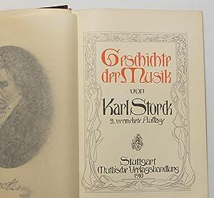 Geschichte der Musik: Storck, Karl