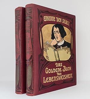Das goldene Buch der Lebensweisheit (beide Bände): Ein Universalhausschatz menschlichen ...