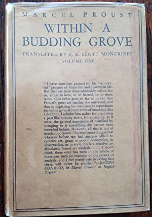 Within A Budding Grove: Marcel Proust