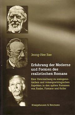 Erfahrung der Moderne und Formen des realitstischen: Bae, Jeong-Hee: