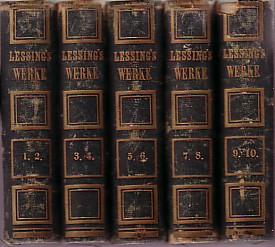 Gesammelte Werke. Zehn Teile in fünf Bänden.: Lessing, Gotthold Ephraim: