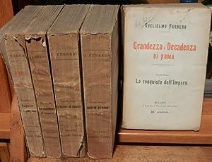 Grandezza e decadenza di Roma. Volume Primo: Ferrero, Gugliemo: