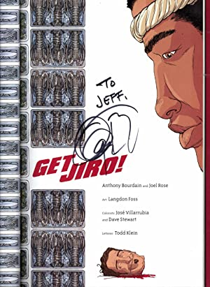 Get Jiro!: Bourdain, Anthony; Rose,
