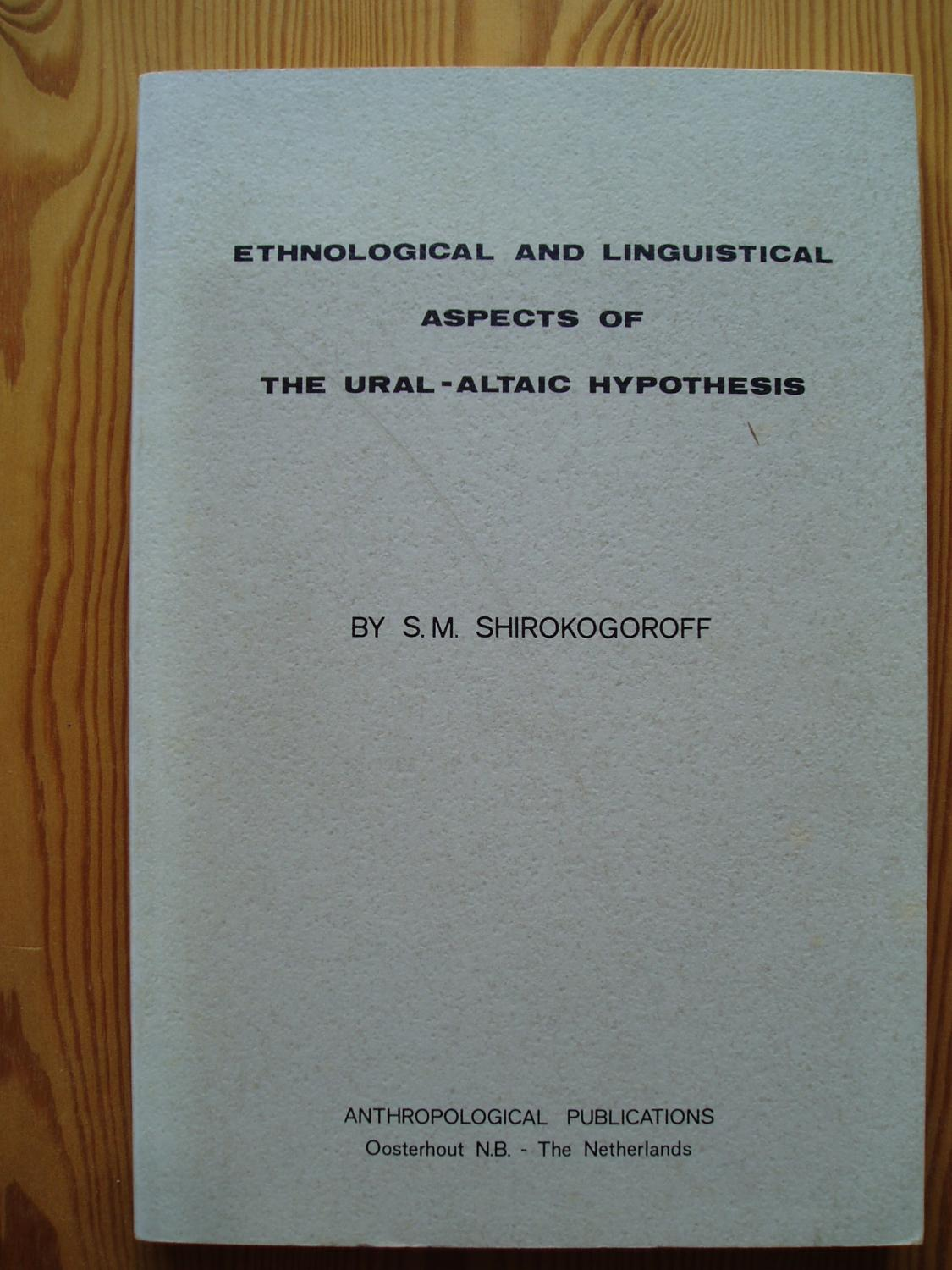 Ethnological And Linguistical Aspects Of The Ural