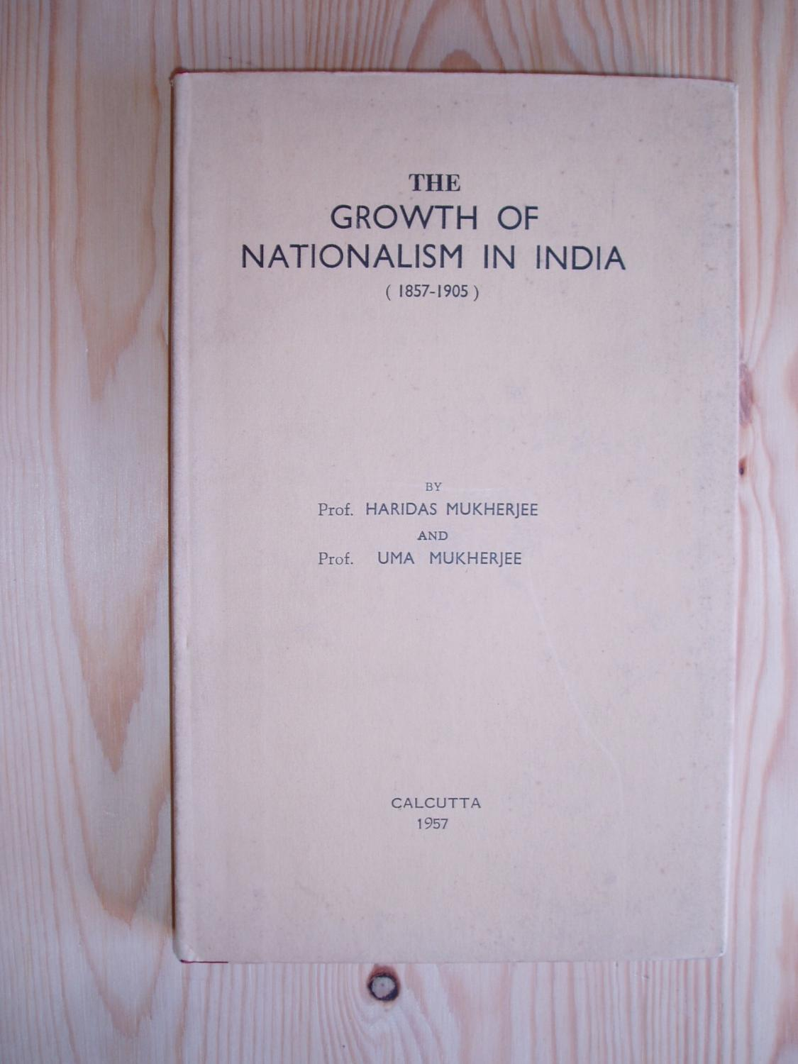 growth of nationalism in india