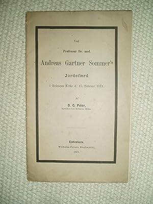 Ved Professor Dr. med. Andreas Gartner Sommer's: Prior, D.C.