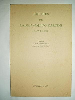 Lettres de Raden Adjeng Kartini : Java: Kartini, Raden Adjeng