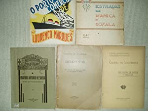 a collection of 5 pamphlets concerning Mozambique, ca. 1906-1948