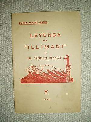 """Leyenda del """"Illimani"""" o """"El camello blanco"""" : leyenda del libro de """"Odiseas ..."""