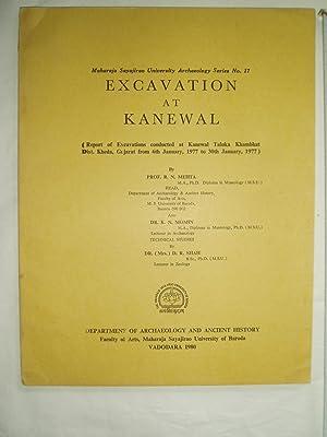 Excavations at Kanewal : Report of Excavations: Mehta, R.N.; Momin,