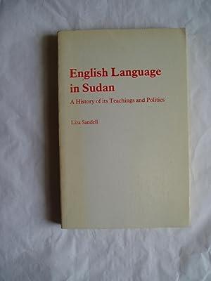 English Language in Sudan : A History: Sandell, Liza