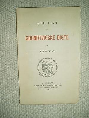 Studier over Grundtvigske Digte: Monrad, Jørgen Herman [1848-1903]