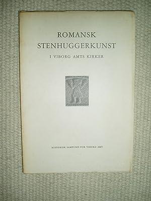 Romansk stenhuggerkunst i Viborg amts kirker: Ditzel, Harald ;