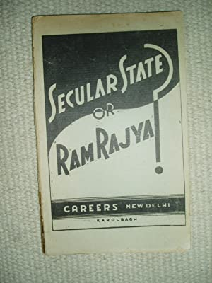 Secular State or Ram Rajya? A Critique on the Relation between the State, Universal Morality and ...