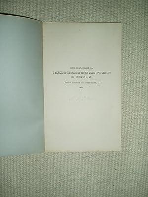 Bemaerkninger om danske og norske stedsnavnes oprindelse: Petersen, Niels Matthias
