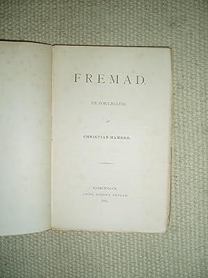 Fremad : en Fortælling: Hambro, Christian Einar
