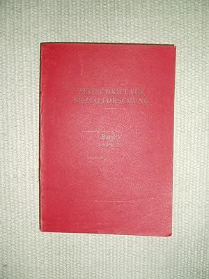 Zeitschrift für Sozialforschung : Band I : Jahrgang 1932: Institut für Sozialforschung Frankfurt a....