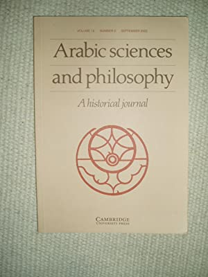 Arabic Sciences and Philosophy : A Historical: Rashed, Roshdi ;