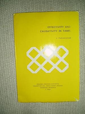 Effectivity and Causativity in Tamil: Paramasivam, K.