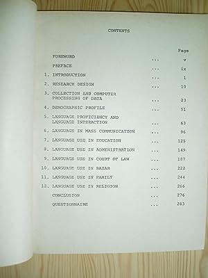 Language Use in Himachal Pradesh: Misra, Bal Govind and Dua, Hans Raj, editors:
