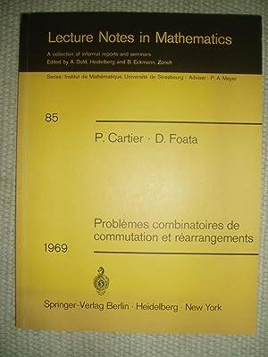 Problèmes combinatoires de commutation et réarrangements: Cartier, P. (Pierre) ; & Foata, ...