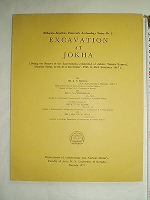 Excavation at Jokha; being the Report of: Mehta, Ramanlal Nagarji