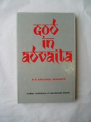 God in Advaita: Warrier, A.G. Krishna