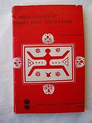 A Bibliography of Indian Folk Literature: Handoo, Jawaharlal