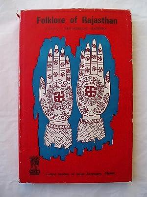 Folklore of Rajasthan: Handoo, Jawaharlal, editor: