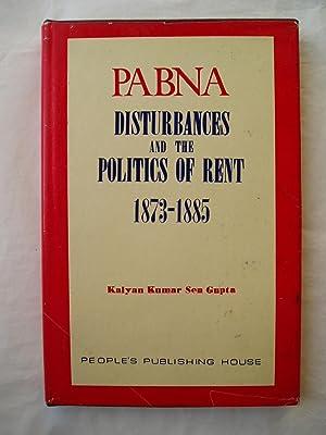 Pabna Disturbances and the Politics of Rent: Sen Gupta, Kalyan