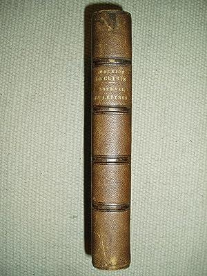 Journal, lettres et poèmes. Publiés avec l assentiment de sa famille: Guérin, Maurice de [1810-1839...