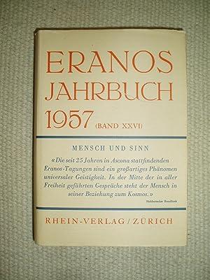 Eranos Jahrbuch 1957 : Band XXVI : Fröbe-Kapteyn, Olga ;