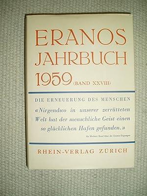 Eranos Jahrbuch 1959 : Band XXVIII : Fröbe-Kapteyn, Olga ;