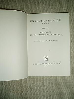 Eranos Jahrbuch 1961 : Band XXX : Fröbe-Kapteyn, Olga ;