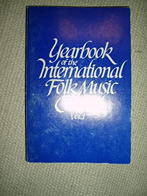 1969 Yearbook of the International Folk Music Council [Volume 1]: Ringer, Alexander L. ; editor: