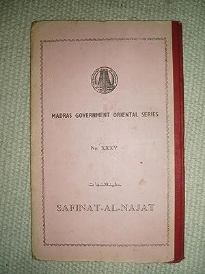 Safinat-al-Najat. Critically edited & Introduced by Janab: Bahadur, Nawwab Ghulam