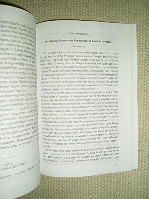Ierusalimis jvris monastris mitsa'tm'plobloba sa'kar'tveloshi: Khutsishvili, Niko