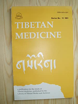 Tibetan Medicine (gSo-rig): A Publication for the: anonymous [Library of