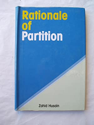 Rationale of Partition: Husain, Zahid