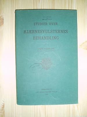 Studier over Hjærnesvulsternes Behandling: Brünniche, Einar [1866-1932]