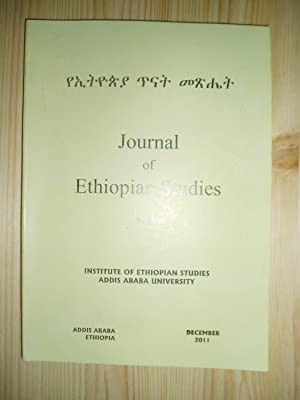 institute of ethiopian studies addis ababa university - AbeBooks