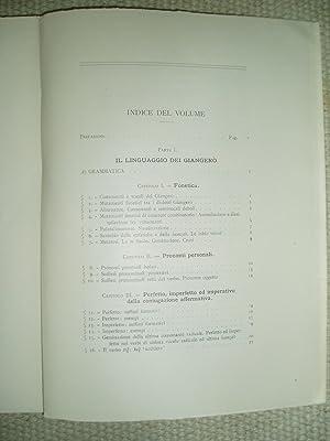 Il linguaggio dei Giangerò ed alcune lingue Sidama dell'Omo (Basketo, Ciara, Zaissè) [ Studi ...