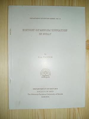 History of Muslim Education in Surat: Pandor, G. A.