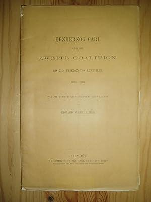 Erzherzog Carl und die zweite Coalition bis: Wertheimer, Eduard