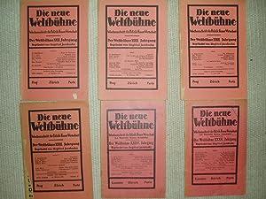Die neue Weltbühne : Wochenschrift für Politik,: Budzislawski, Hermann ;