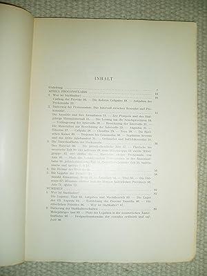 Die Statthalter der römischen Provinzen Nordafrikas von Augustus bis Diocletianus, I-II: Thomasson,...