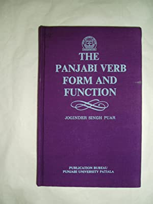 The Panjabi Verb : Form and Function: Puar, Joginder Singh