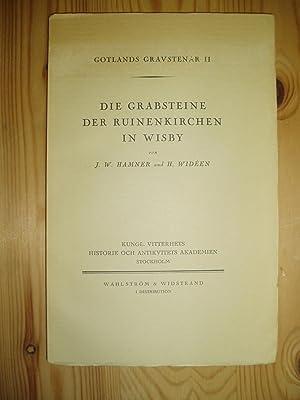 Die Grabsteine der Ruinenkirchen in Wisby: Hamner, J.W. ; & Widéen, Harald