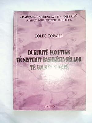 Dukurite fonetike te sistemit bashketingellor te gjuhes shqipe: Topalli, Kolec