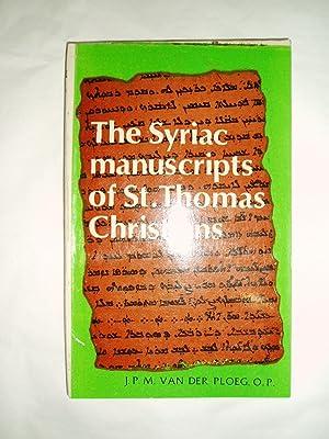 The Christians of St. Thomas in South: Van der Ploeg,